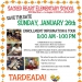 Tardeada 1/26 – Games, Music, and Food!