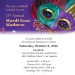 "Don't Miss Casino Night – ""Mardi Gras Madness"" on October 8th"